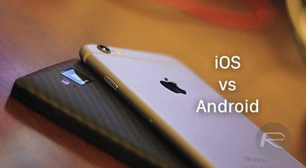 iOS vs Android main