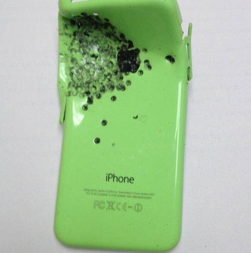 iPhone 5c shotgun