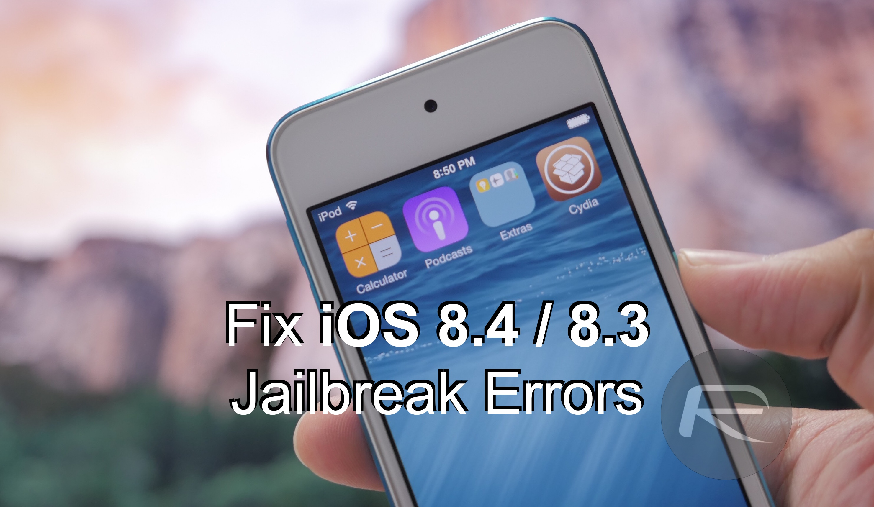 8.4 8.3 jailbreak errors fix