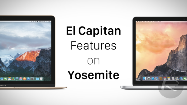El Capitan Features Yosemite main