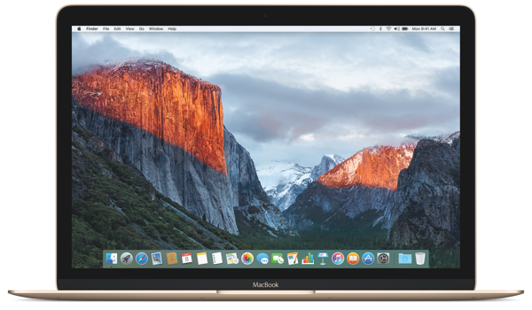 El Capitan Macbook