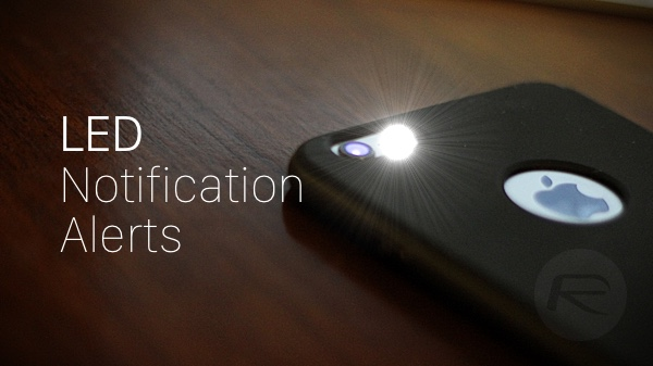 iphone flash notification turn on iphone led flash alerts for notifications here s 11852