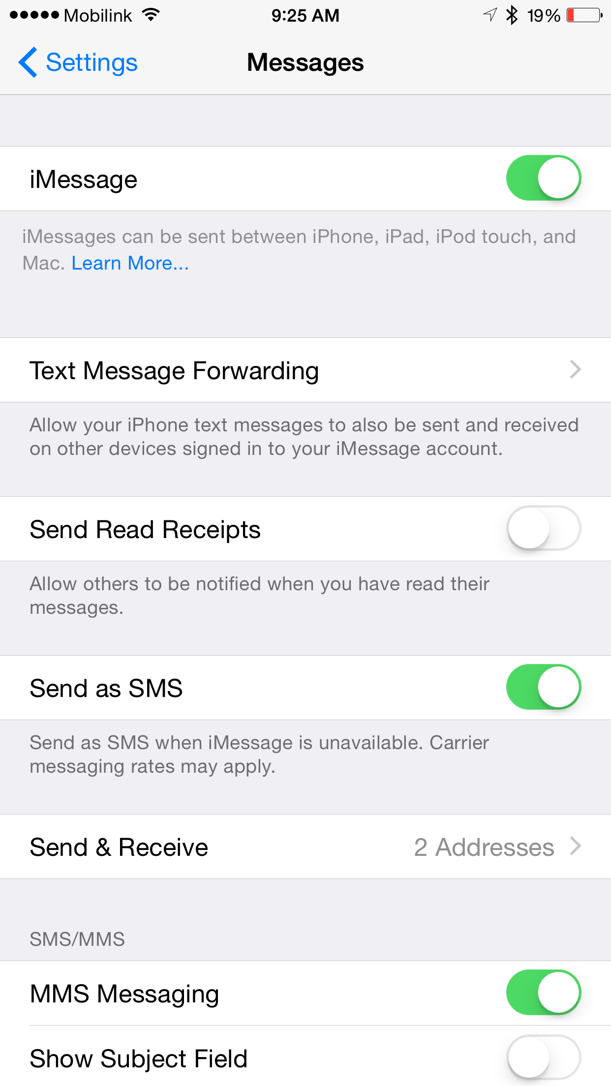 how to enable imessage on iphone 5 fix imessage activation issue on ios 8 3 after taig 20031