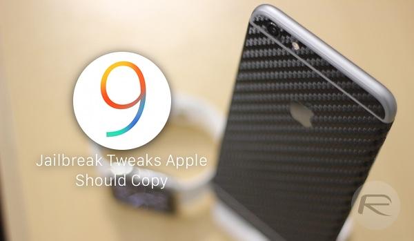 Jailbreak Tweaks iOS 9 main