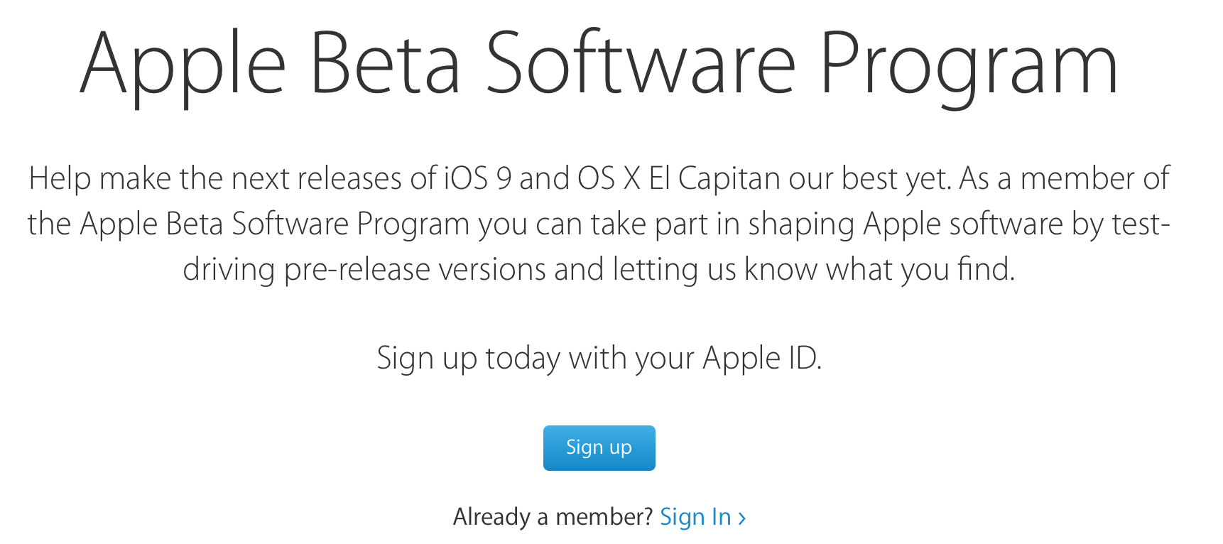 Now You Can Download iOS 9 and OS X El Capitan as Open Beta