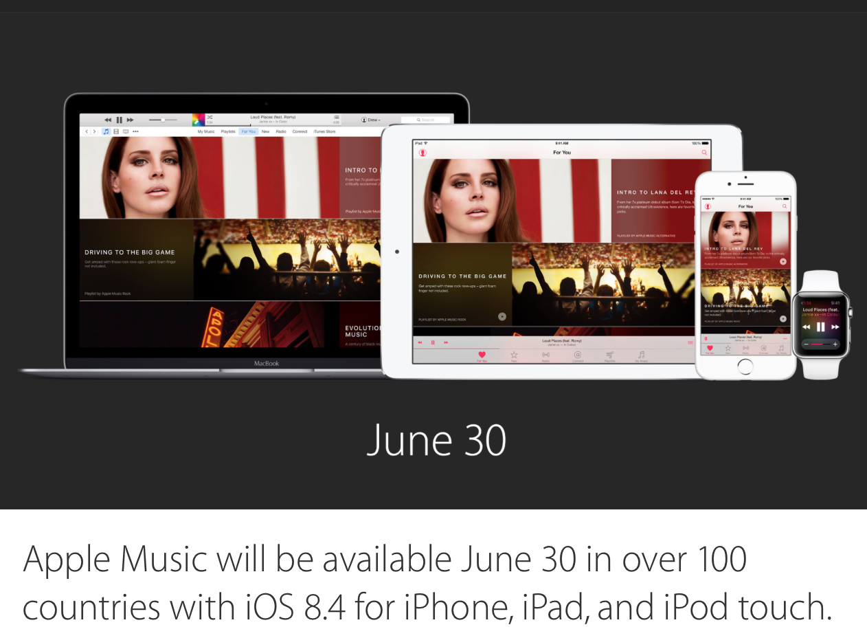 apple music release date