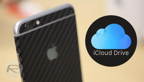 iCloud Drive main
