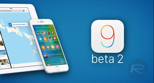iOS 9 beta 2 main