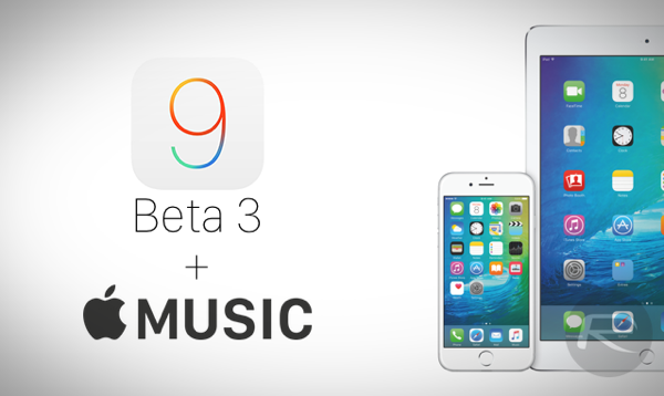 iOS 9 beta 3 Apple Music