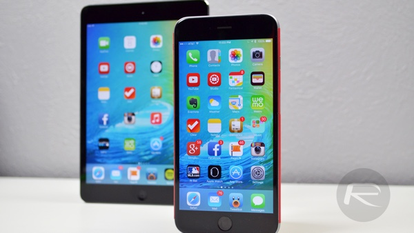 iOS 9 iPhone and iPad