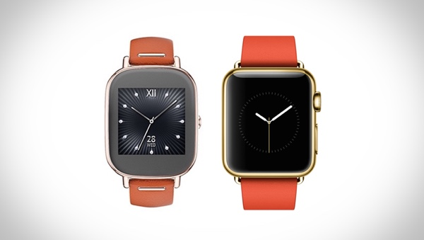 zenwatch 2 apple watch gold