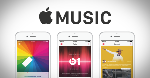 Apple Music iPhone main