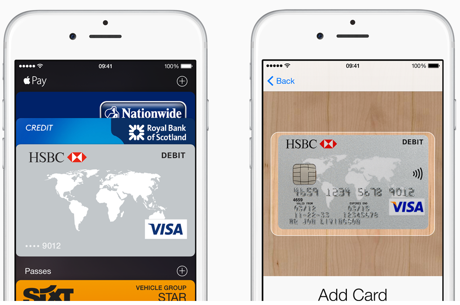 Apple Pay UK cards 2