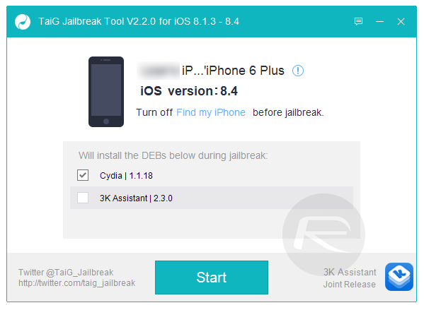 Jailbreak iOS 8.4 With TaiG / PP On iPhone 6, 6 Plus, 5s, More