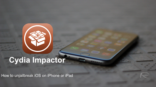 How To Unjailbreak iOS To Stock Without Updating To Latest Version With Cydia Impactor | Redmond Pie