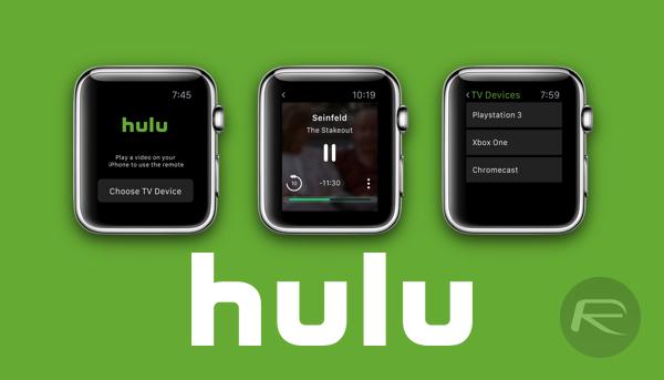Hulu Apple Watch main