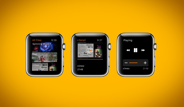 VLC apple watch main