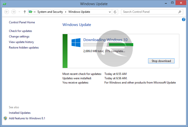 windows 10 upgrade download