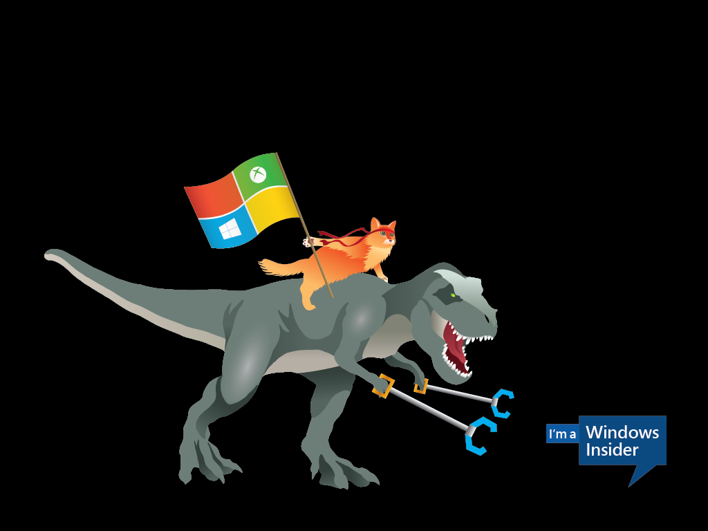 Windows_Insider_Ninjacat_Trex-1024x768-Desktop