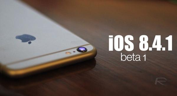 iOS 8.4.1 beta1