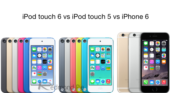 iPod touch 6 comparison