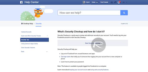 Facebook Securtiy Checkup 12