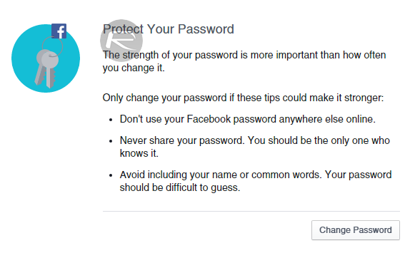 Facebook Securtiy Checkup - 3