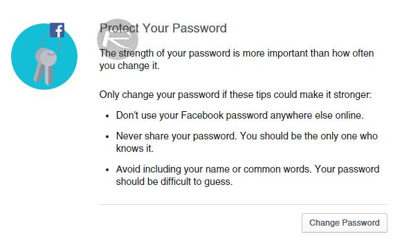 Facebook Securtiy Checkup - 3