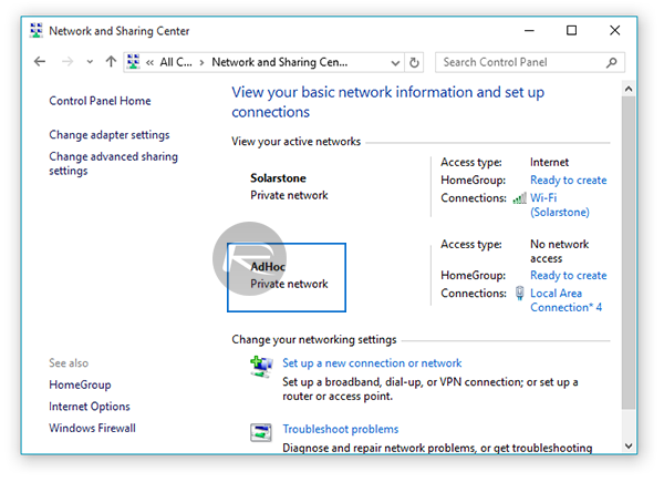 Create Ad Hoc WiFi Hotspot In Windows 10, Here's How