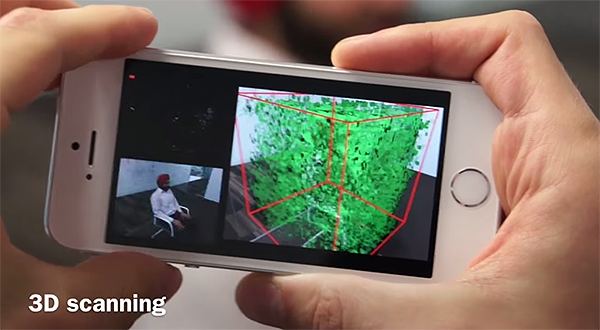 3d Scanner App >> Microsoft S Mobilefusion App Can Turn Your Iphone Into A 3d