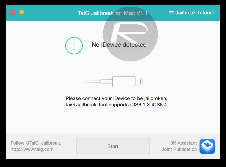TaiG 1.1.0 OS X Mac