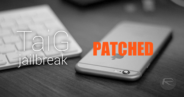 TaiG-jailbreak-main patch