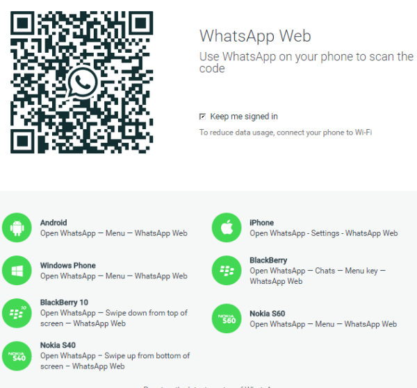 WhatsApp Web - 1