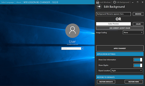 Windows-10-Logon-Background-Changer