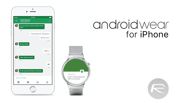 android wear iphone main