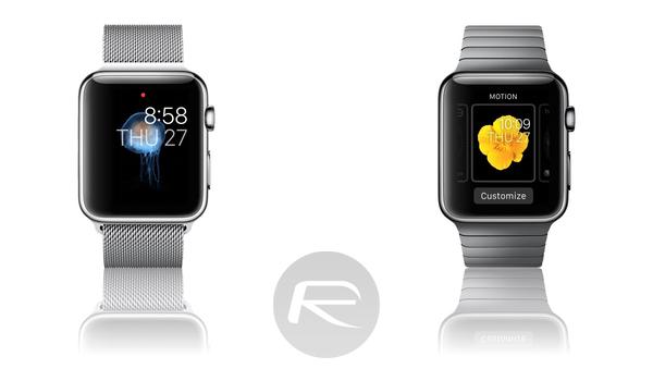 apple watch motion walls