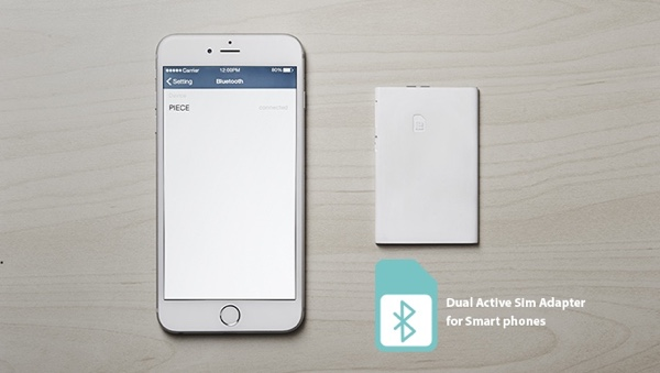 Piece Is A Wireless Dual-SIM Adapter For iPhone [Video