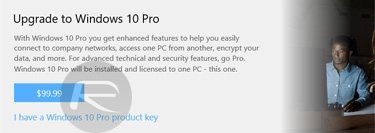 How To Upgrade Windows 10 Home To Pro Edition | Redmond Pie