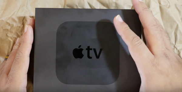 Apple TV 4 unboxing