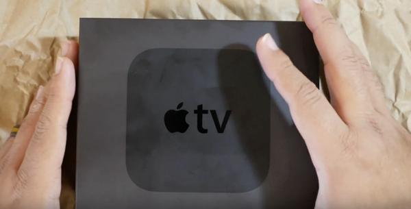 Apple TV 4 unboxing