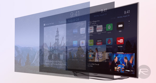 Apple-TV-with-iOS-9-concept