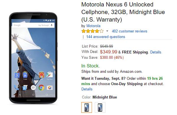 Nexus-6-Amazon-32GB