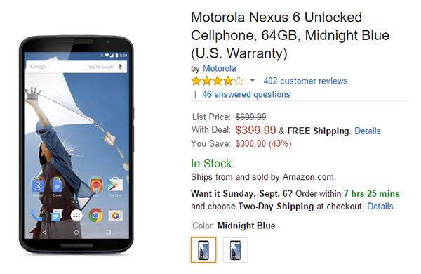 Nexus-6-Amazon-64GB