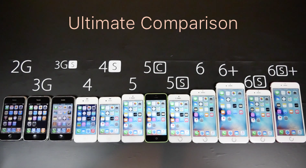 Ultimate iPhone 6s Comparison