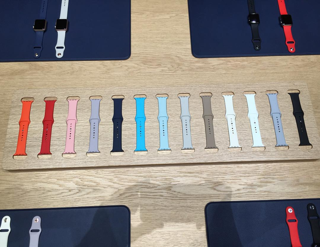 apple watch sport band new colors