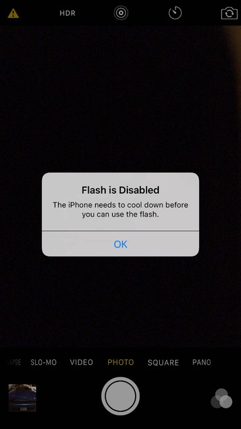 flash iPhone 6s