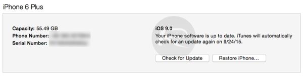 iOS 9 itunes