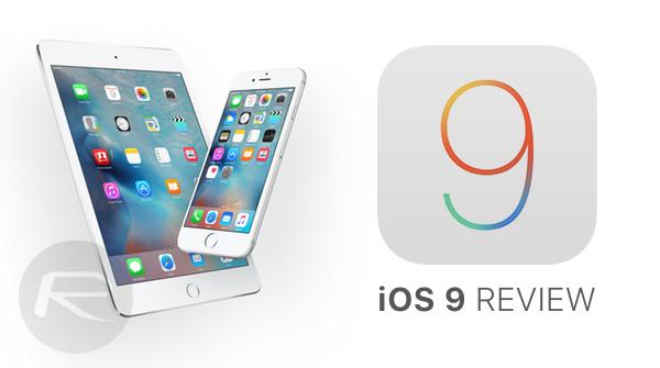 iOS 9 review main