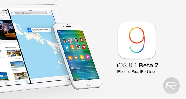 iOS-9.1 Beta 2