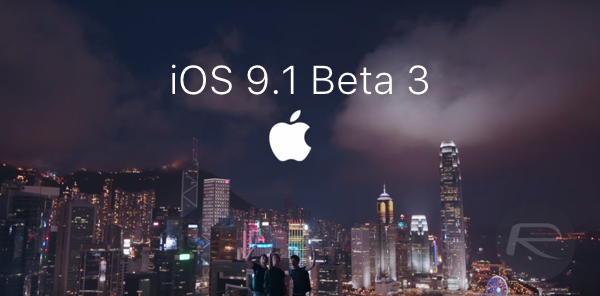iOS 9.1 beta 3 main